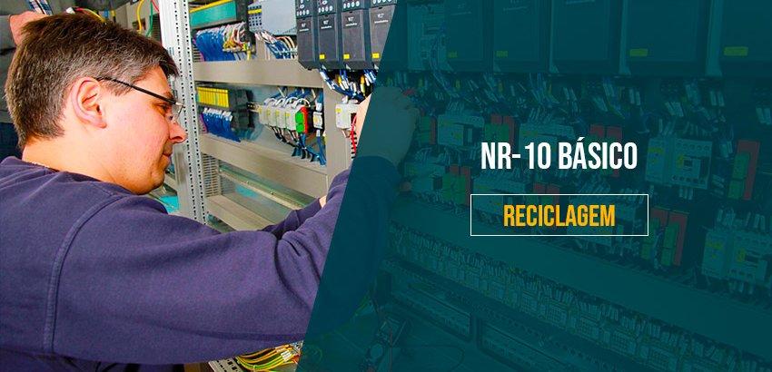 NR-10 Básico (Reciclagem): Segurança em Instalações e Serviços em Eletricidade