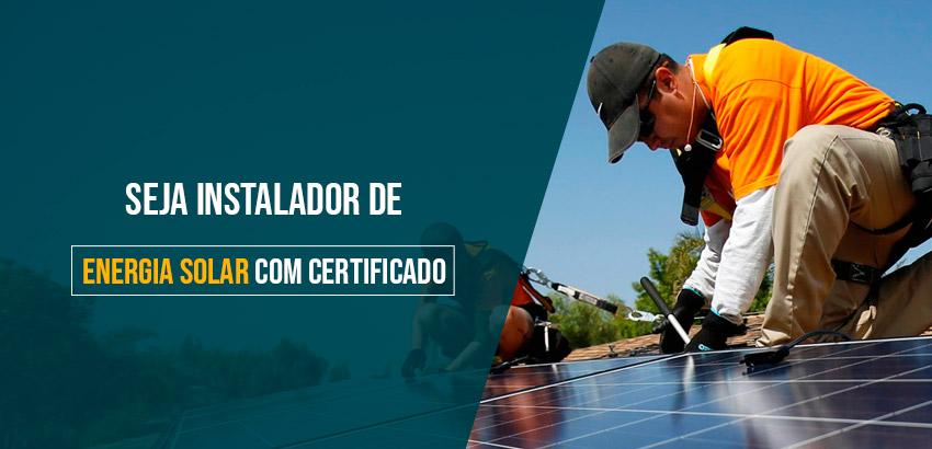 Curso presencial - Instalador e Integrador Solar Fotovoltaico