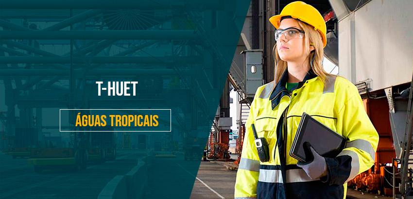 T-HUET -  Treinamento de Escape de Aeronave Submersa para Águas Tropicais