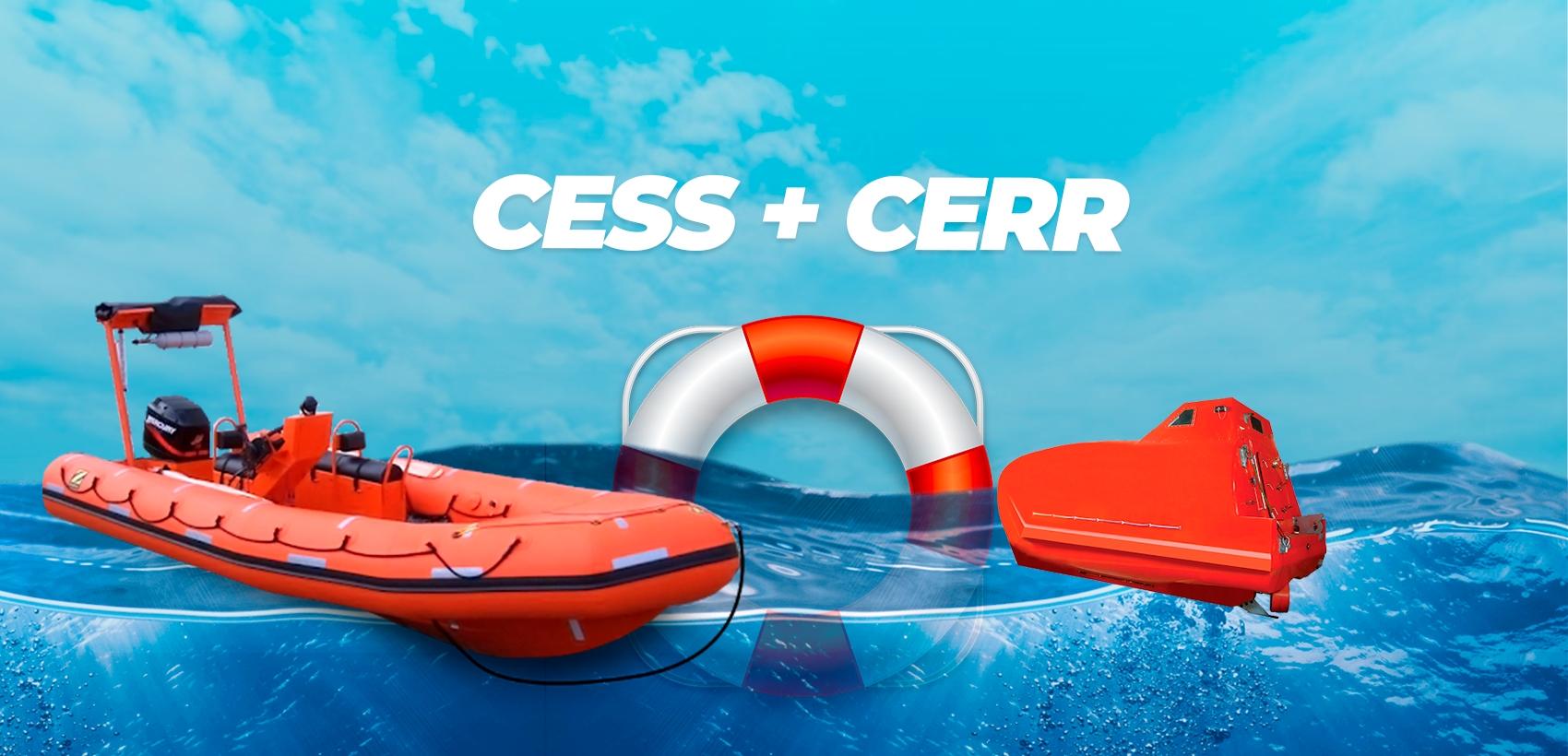 CESS + CERR (Resgate de Embarcação em Alto Mar)