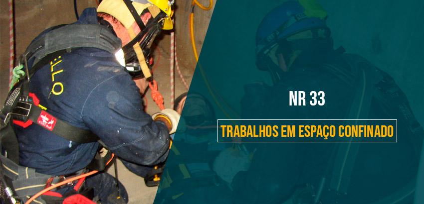 NR 33 - Trabalho em Espaços Confinados