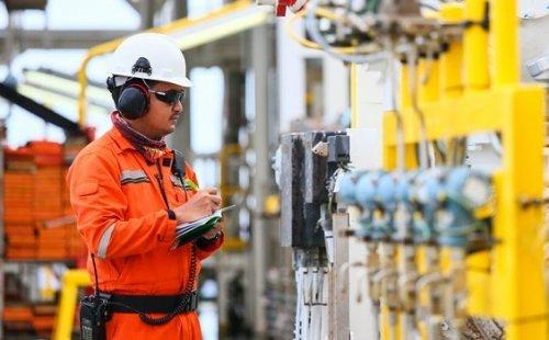Guia de profissões a bordo de Plataforma de Petróleo